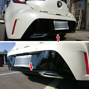 Glossy Black Fit For Toyota Corolla Auris 5dr Rear Bumper Exhaust Diffuser 2020