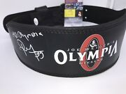Big Ramy New Mr. Olympia 2020 Hand Signed Weightlifting Belt With Jsa Coa