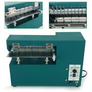 Leather Cutting Machine Shoes Bags Slitter Fabric Cutter Blade 1600rpm 60w 110v
