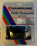 Samsung Sf-100 Fully Automatic 35mm Camera- Vintage- Rare- Factory Sealed- New