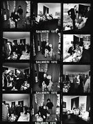 Bernstein / Black Panther 1970 And039radical Chicand039 Party Two 8x10 Bandw Contact Photos