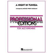 A Night In Tunisia Jazz Band Level 5 Arranged By Michael Philip Mossman