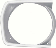 Oer Argent Silver Right Hand Headlamp Bezel 1971-1972 Valiant Duster And Scamp