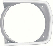 Oer Argent Silver Left Hand Headlamp Bezel 1971-1972 Valiant Duster And Scamp