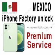 Unlock Code Service For Mexico Unefon Nextel Iusacell Iphone Xs Xr Xs Max Att