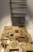 Stampinand039 Up Bulk Lot Plus Dozens Of Other Stamps Card Making Crafting