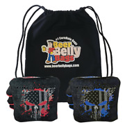 Beer Belly Bags Pro Style Competitive Cornhole Bags   Stick And Slick - Set Of 8