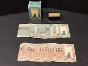 Vintage Art Deco Gibson Boulevard Playing Cards Scottie Dog 2 Full Decks And Case