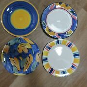 Pier 1 Dinner Plate 9.75 Italy Multicolor Choice Or Buy The Set