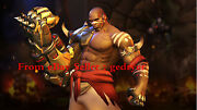 Blizzard Hot Game Overwatch Sahr Ngaujah Big Model Statuary In Stock 14.25in New