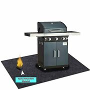 Under Grill Gear Flame Retardant Matsbarbecue Grilling For Gasabsorbing Oil Pa