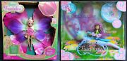 Hue The Butterfly And Honey Too Fairytopia Blooming Thumbelina Doll Barbie Lot 2