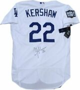 Clayton Kershaw Signed Auto 2020 World Series Authentic Jersey Dodgers Mlb Coa
