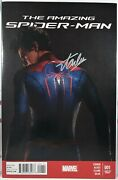 💥 Stan Lee Signed Amazing Spider-man 1 The Movie Andrew Garfield Marvel Comics