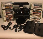 Xbox 360 S Gaming System 250gb With 47 Xbox 360 Games Plus Kinect Bundle