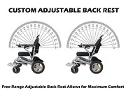 Culver Mobility Lightweight Folding Electric Wheelchair 500w Reclinable