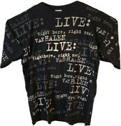 Van Halen Live Right Here Right Now 1993 Mens Xl All Over Print Vintage T-shirt