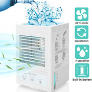 Portable Air Conditioner 5000mah Rechargeable Battery Operated 120anddegauto Mini 3