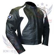 Motorcycle Jacket Brands. Bmw 3877 Bandw Leather Gear Thick Biker Armoured Coat