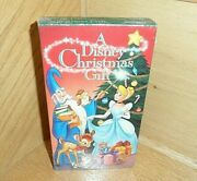 Walt Disney Home Video A Disney Christmas Gift Vhs New And Sealed Rare Vintage