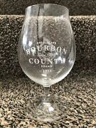 """Bourbon County Rare Day Goose Island 5.25"""" Snifter Glass 2015 Beer"""
