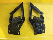 63-66 Ford Mercury Mustang Falcon Fairlane Comet Hood Hinges Fast Free Shipping