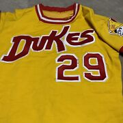 Albuquerque Dukes Game Used Jersey Aaa Los Angeles Dodgers Farm Team