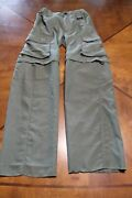 Boy Cub Scout Polyester Switchback Pants - Youth Small Olive Green - Bsa 119