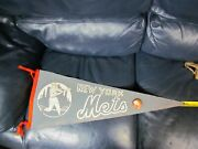 1960 Early New York Mets Pennant Rare