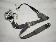 2006 - 2011 Honda Civic Coupe Drivers Front Left Seatbelt And Buckle Assembly