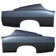 New Rear Set Of 2 Lh And Rh Side Quarter Panel Fastback Fits Ford Fairlane