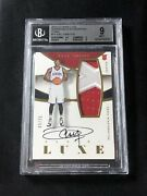 Bgs 9 Joel Embiid Panini Luxe Prime 09/25 Rookie Jersey Auto M-jem Rc Rpa Psa