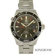 Tag Heuer Aqua Racer Wak2112 Exterior Finished Overhauled Watch From Japan