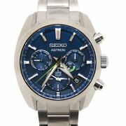Seiko Astron Limited Edition Menand039s 5x53-0aj0 Japan Collection 2020 Ty020