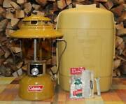Coleman Lantern Gold Bond 228h Oil Fuel May1973 Vintage Rare Camping Very Good