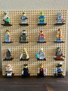 Lego • Cmf Minifigures • Mixed Lot Of 16 • From Series 1, 3, 4, 5, 6, 9, 10 And 13