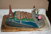 Paris With Pepe Le Pew And Penelope Sculpted By Ron Lee