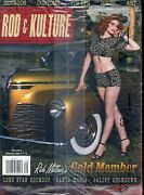 Rod And Kulture Illustrated 39 Fall 2014-hot Rods-pin-up Girls New Unopened