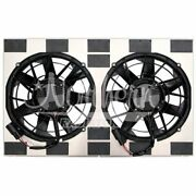 Northern Radiator Z40132 Dual 12 300w Brushless Fan And Shroud New