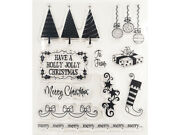 Holly Jolly Christmas Clear Stamp Set