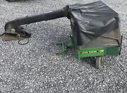 John Deere 425 445 455 345 335 Mc519 Bagger Cart W/power Flow 48 54 Mower Deck