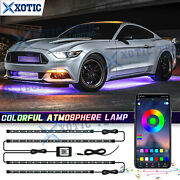 90x60 App Control Multi Function Rgb Led Underglow Light For Ford Mustang Focus