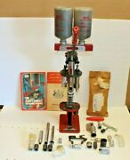 Mec 600 Jr. 20 Ga Reloading Press Single Stage With Extrasparts Texan