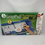 Brand New Leapfrog Leappad Plus Writing Learning System Includes 2 Books - 30056