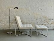 Contemporary Mid Century Modern Styled Lounge Chairs, A Pair
