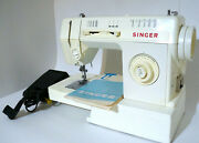 Singer Merrit Sewing Machine Model 3314c With Travel Bag And Manuals 100 Working