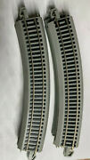 10 Curved Bachmann Ez Track Gray Ho 18 R 30 - 9 Inches Long