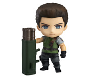 New Nendoroid Resident Evil Chris Redfield Abs And Pvc Action Figure Japan Bioh
