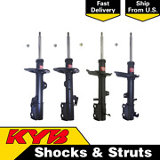 Set4 Kyb Excel-g Strut Assembly Front And Rear For 2013-16 Toyota Venza