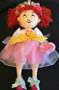 New Madame Alexander Fancy Nancy Tea Party Plush Doll 18 In Collectible Doll Toy
